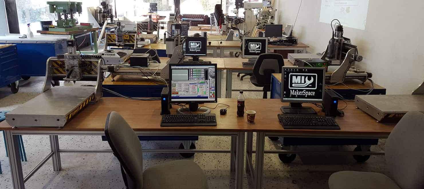 Atelier Fraiseuse CNC