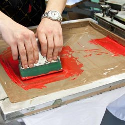 learn with our courses about serigraph-printing and vinyl cutting