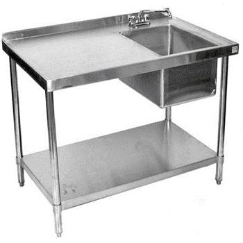 Soudure sur les éléments en Inox, tables chaises, armoires, cuisines