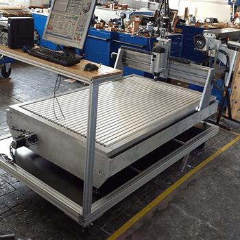 Projets en Aluminium, les machines les tables chariots, outillages