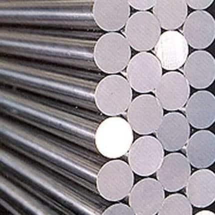 Cutting steel or stainless steel bars