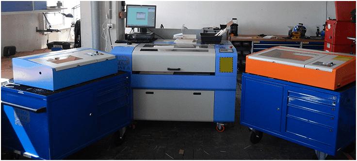 Atelier de découpe laser