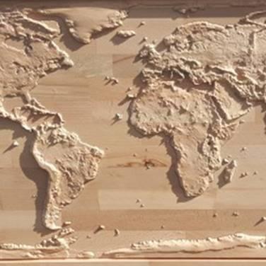 Maquettes 2D et 3D en bois : paraffine, bois, plastique depuis une image