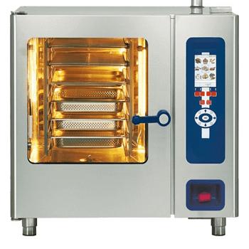Equipé d'une combi steamer, four, frigo et tous les outils pour la cuisine