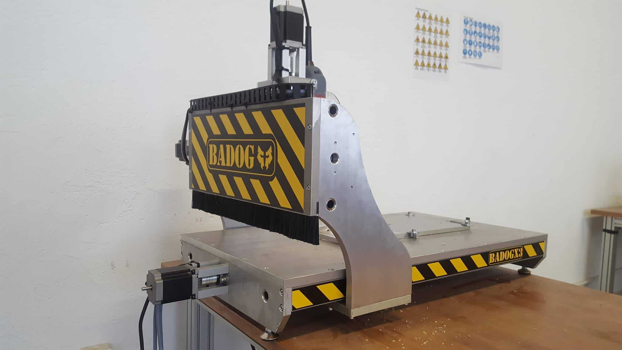 machine fraiseuse cnc occasion badog x2